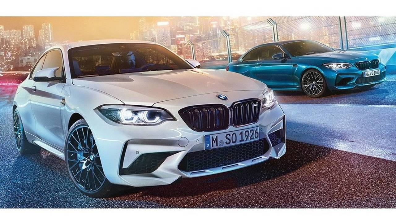BMW M2 Competition With 410 HP Leaked In Colorful Official ...