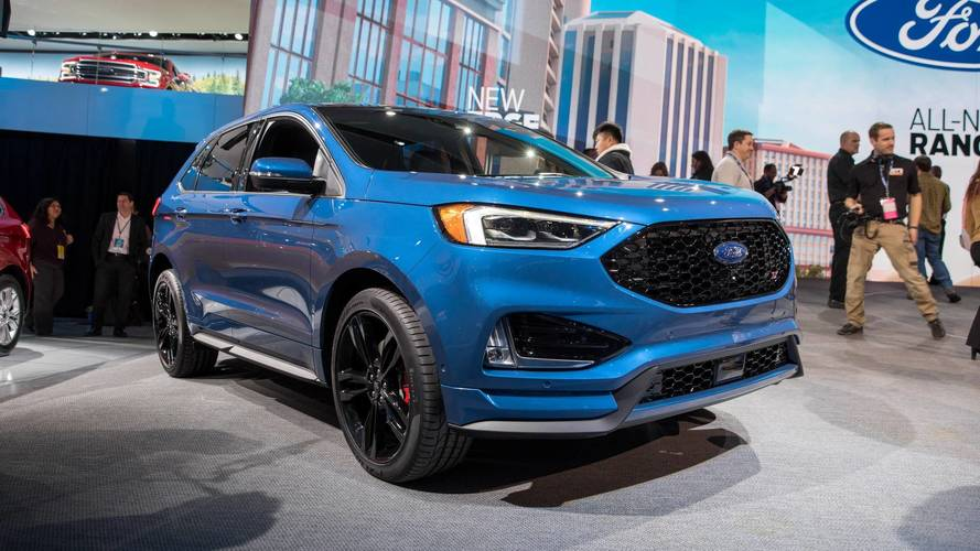 Ford Refreshes 2019 Edge, Launches 335-HP ST Model