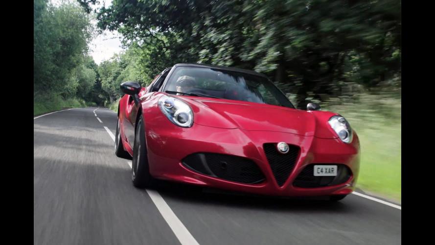 Alfa Romeo 4C, la parola a chi la guida tutti i giorni [VIDEO]