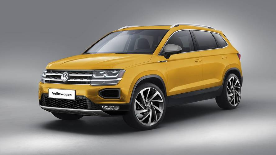 VW global SUV render