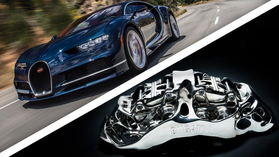 Bugatti sort un étrier de frein... imprimé en 3D !
