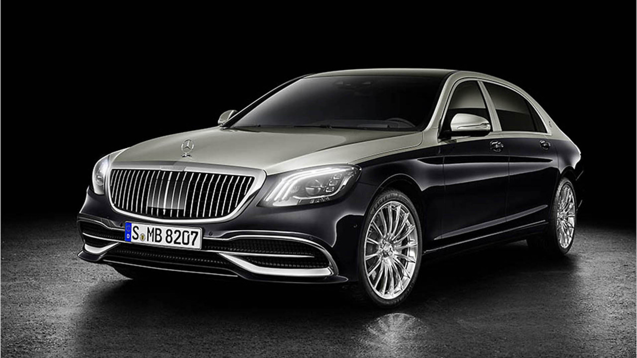 Mercedes-Maybach S-Klasse Facelift
