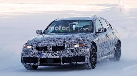 Flagra - Novo BMW M3 aparece em testes