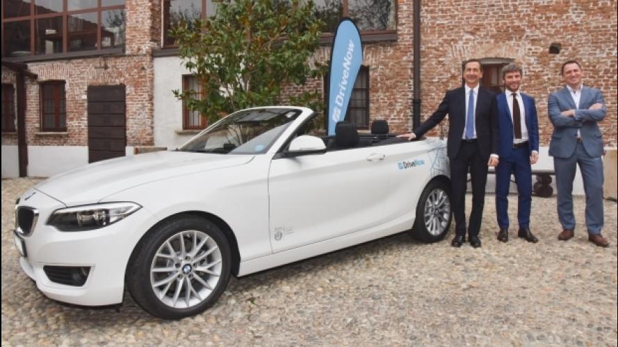DriveNow, il car sharing di BMW arriva in Italia