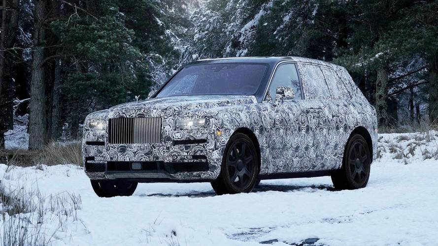 Rolls-Royce Officially Confirms 'Cullinan' Name for Its SUV