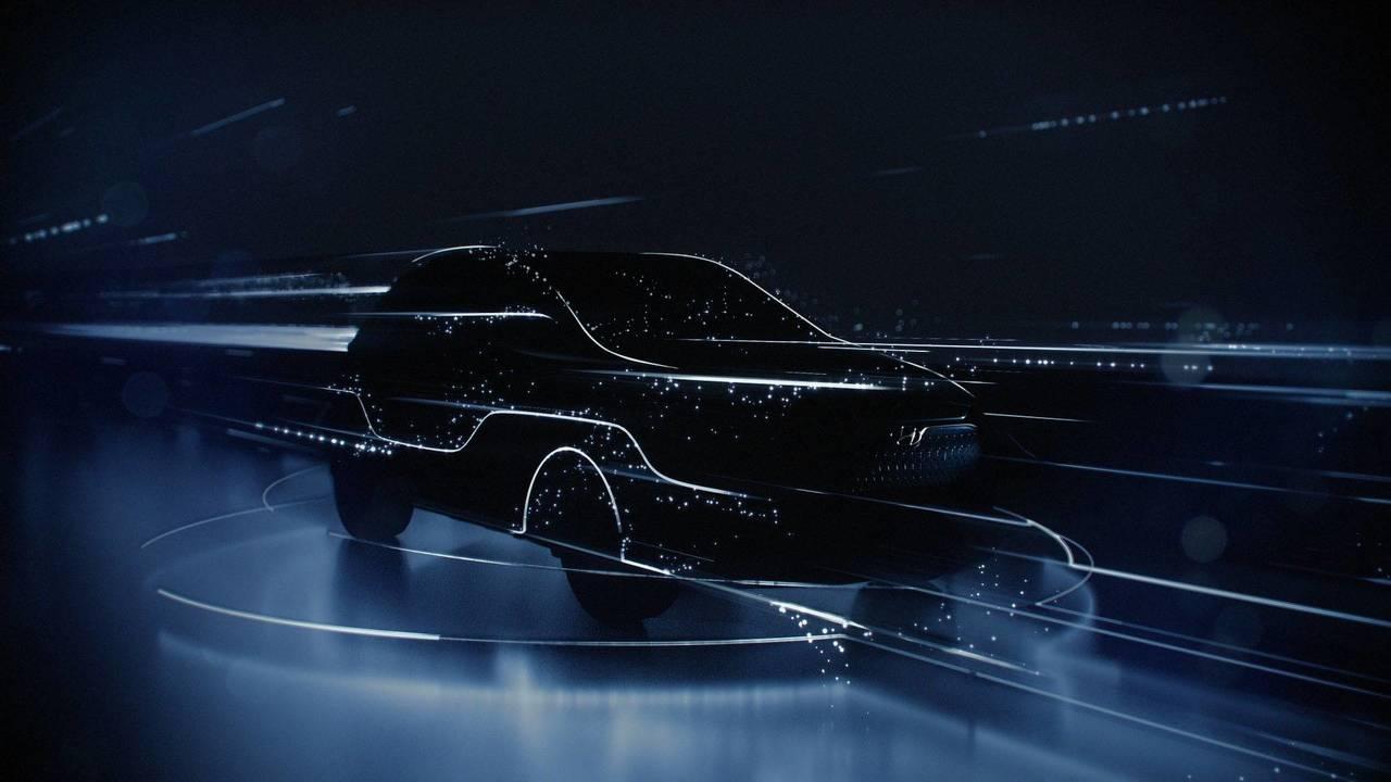 Hyundai Kona EV teaser