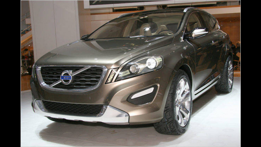 Volvo-Studie XC60 fährt mit auch mit Bioethanol