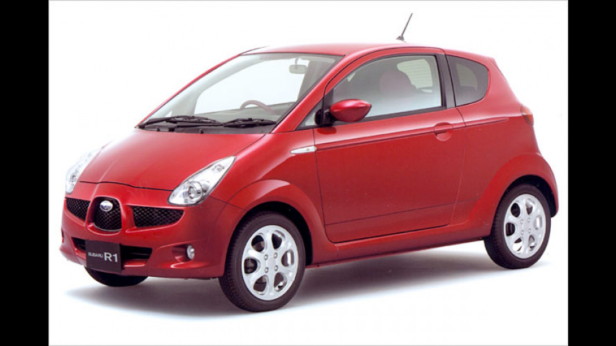 Subaru R1: Autozwerg geht in Japan an den Start