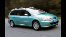 Sauberer Peugeot 307