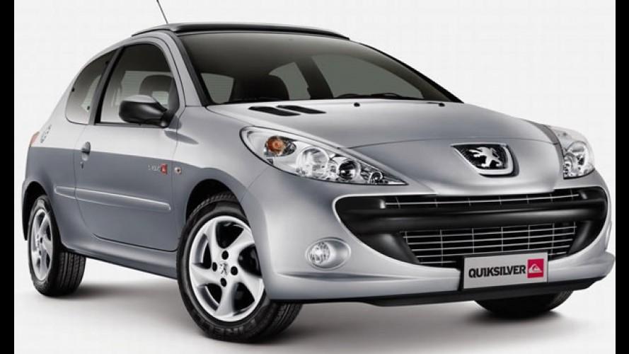 Peugeot lança a edição especial 207 Quicksilver na Argentina pelo equivalente a R$ 32.350