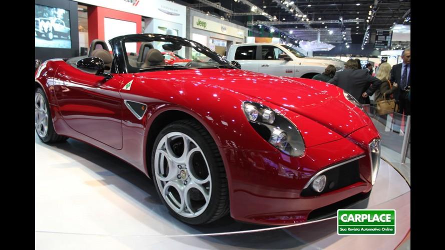 Salão de Buenos Aires: Alfa Romeo 8C Spider