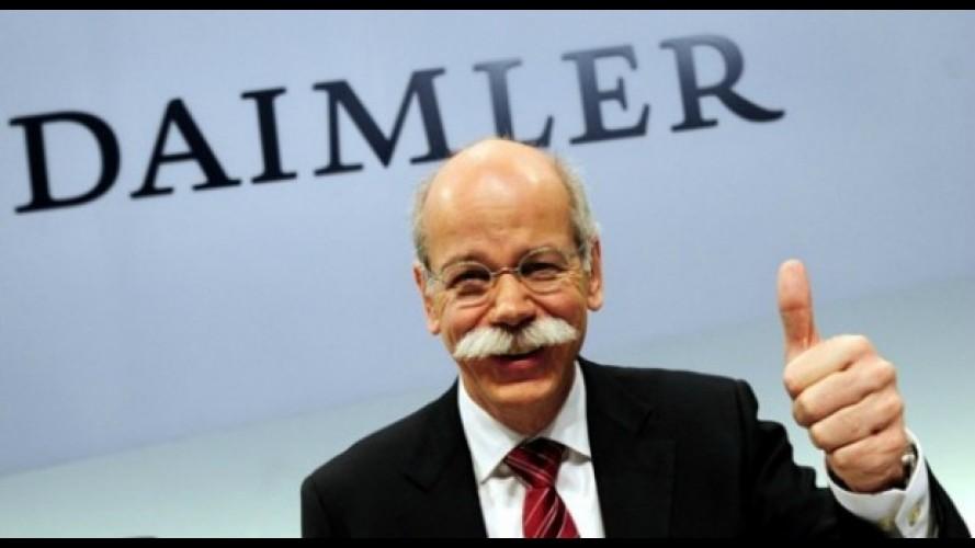 Mercedes quer retomar liderança entre marcas Premium, diz CEO da Daimler