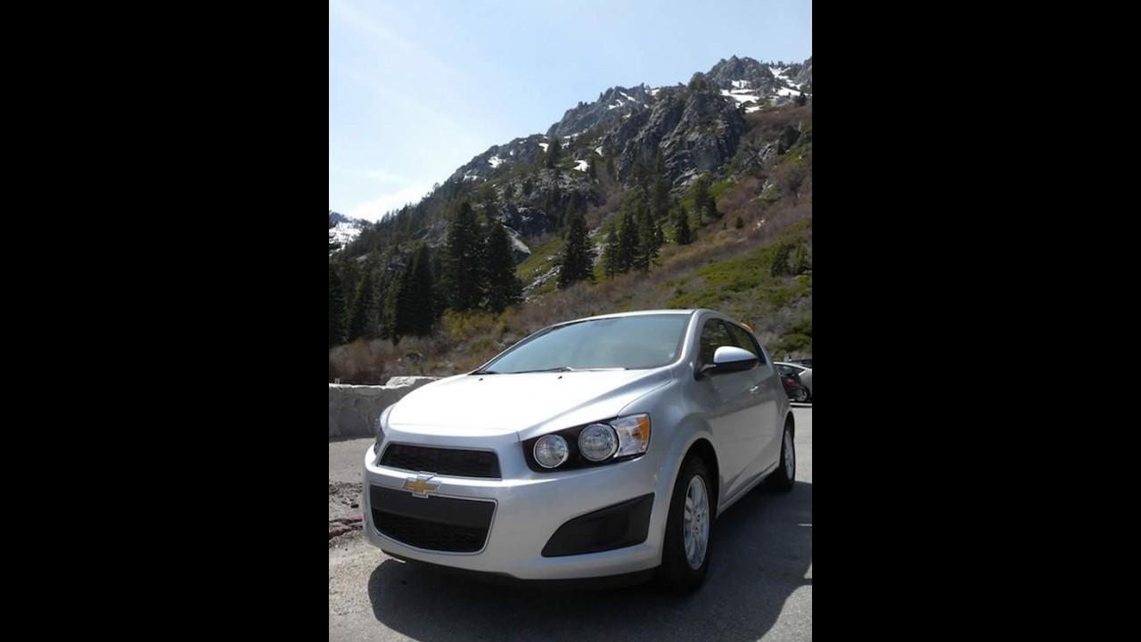 "Fotos: Chevrolet testa o Novo Sonic no ""mundo real"""