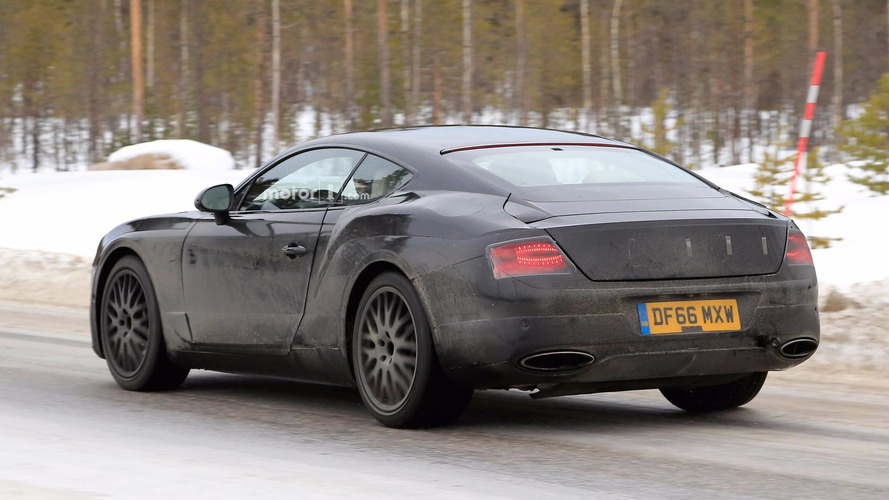 Bentley Continental GT Spy Pics