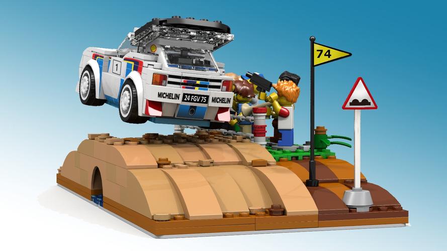 Peugeot 205 T16 Diorama on Lego Ideas