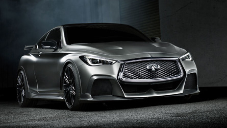500-Hp  Infiniti Q60 Black S Road-Ready Concept May Debut In Paris