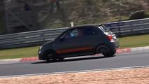 Narrow-Axle Fiat 500 on Nurburgring