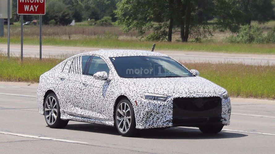 Buick Regal GS Spied In Michigan With Menacing Front Grille