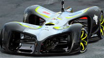 Roborace dévoile Robocar, la première voiture de course sans pilote