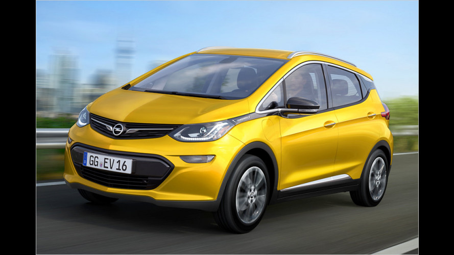 Opel fährt elektrisch