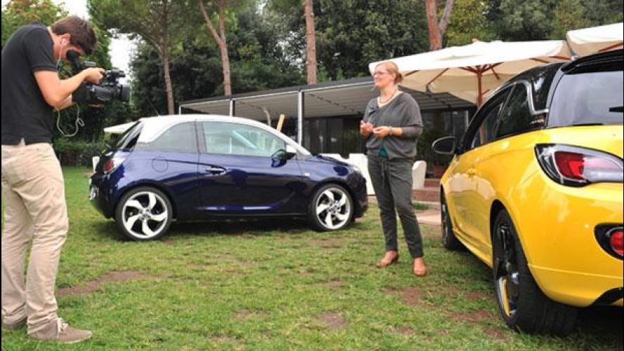 Adam, la citycar trendy secondo Opel
