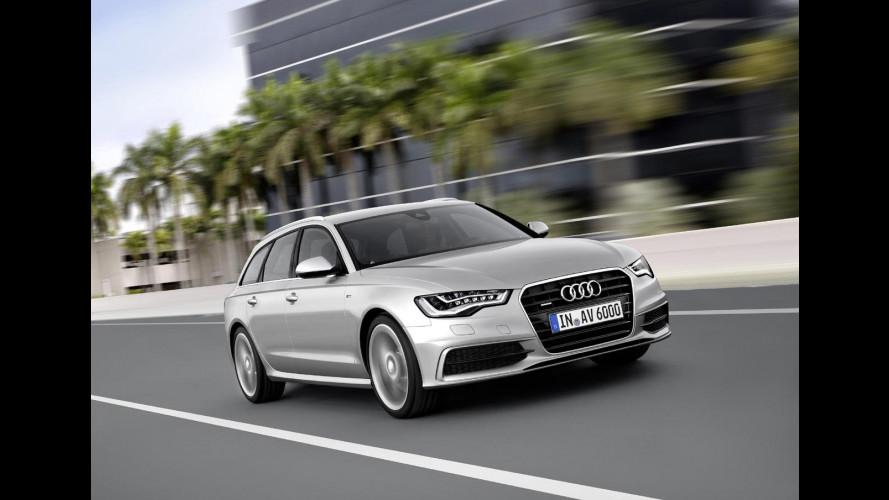 Audi A6 Avant, lusso formato famiglia