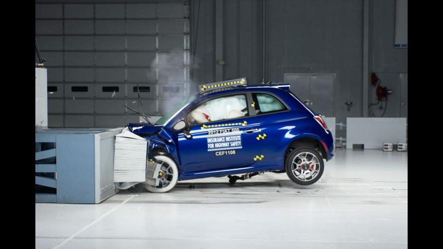 """Fiat 500 è """"Top Safety"""" anche negli USA"""