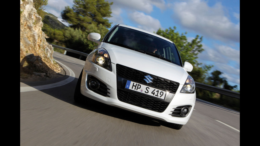 Nuova Suzuki Swift Sport, i prezzi