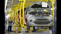 La produzione di Ford Ka