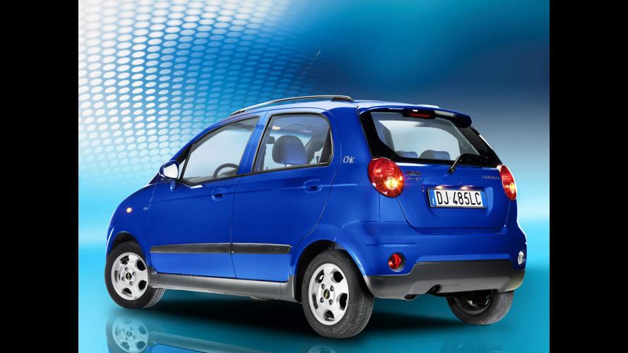 Chevrolet: la quota di mercato in Italia cresce del 30%