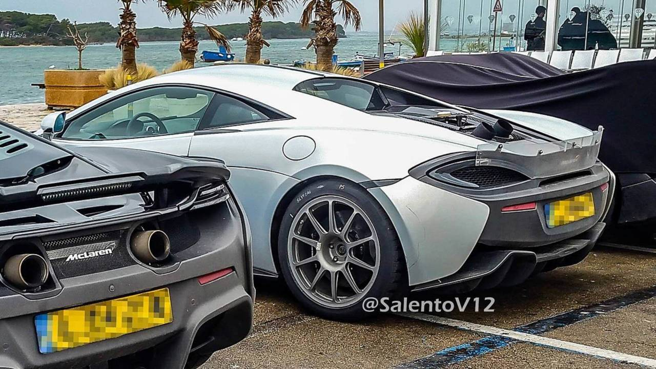 hotter mclaren 570s was actually spotted testing months ago. Black Bedroom Furniture Sets. Home Design Ideas