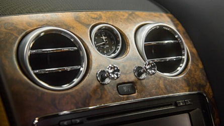 Bentley Open-Pore Wood Veneer Is Just Nuts