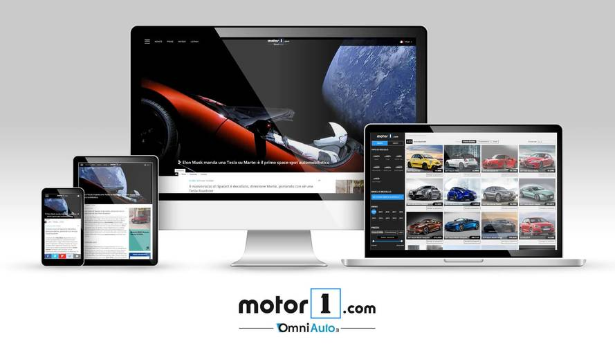 The Italian Version Of Motor1.com, The Number One Worldwide Automotive Publication, Is Online Now!