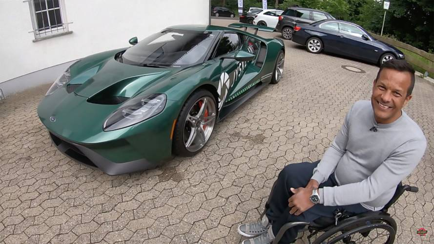 Being Paralyzed Hasn't Stopped This Guy From Driving His Ford GT