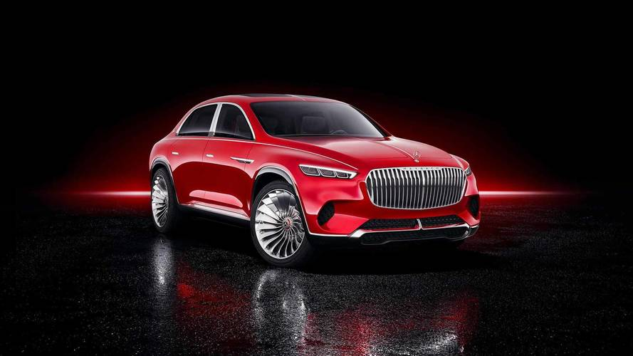 Vision Mercedes-Maybach Ultimate Luxury concept