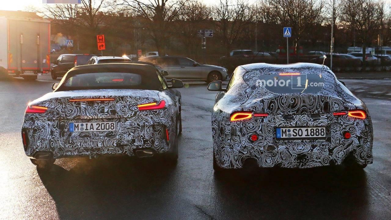 BMW Z4 & Toyota Supra