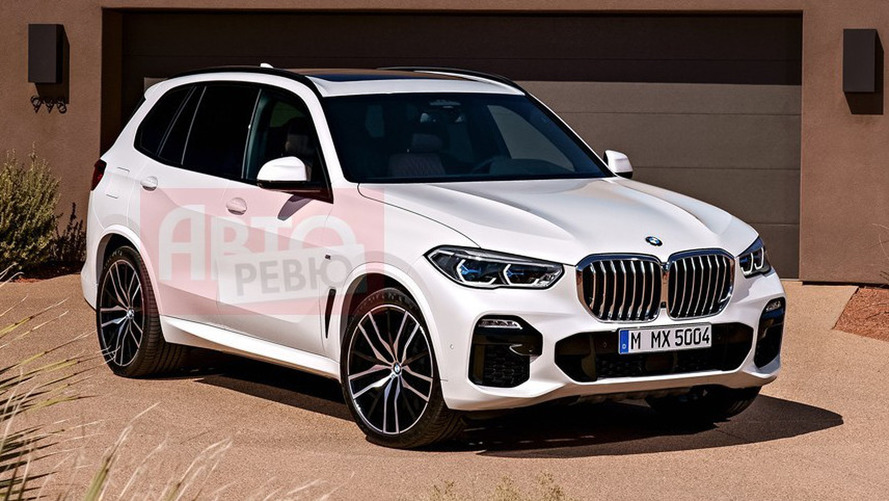 Leaked Official Images: Could This Be The New BMW X5?