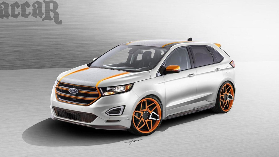 Ford to introduce three customized Edges at SEMA