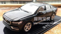 Volvo ordered 2,000 S90 scale models, employee stole 20 and leaked them