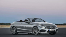 2016 Mercedes-Benz C-Class Cabriolet render