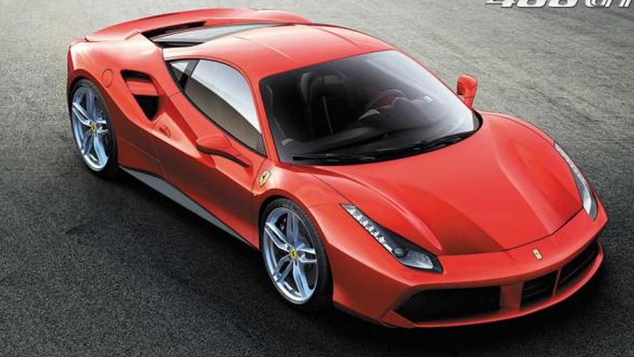 Ferrari 488 GTB revealed with twin-turbo V8 engine
