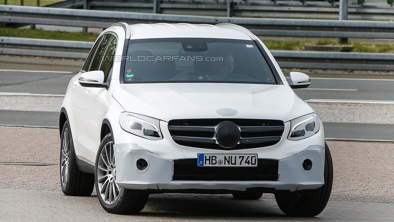 Mercedes GLC spy photo