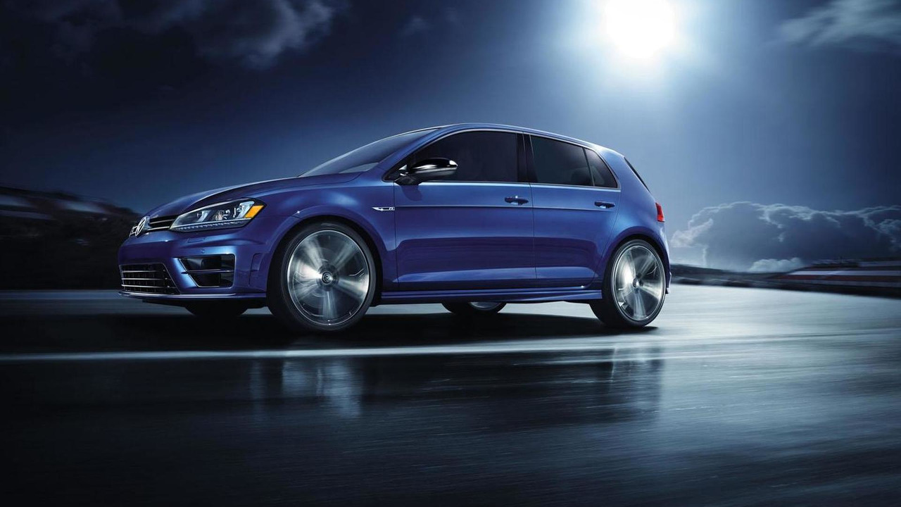 2015 Volkswagen Golf R launch edition (US)