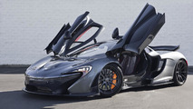 McLaren P1 with Flintgrau Metallic paint