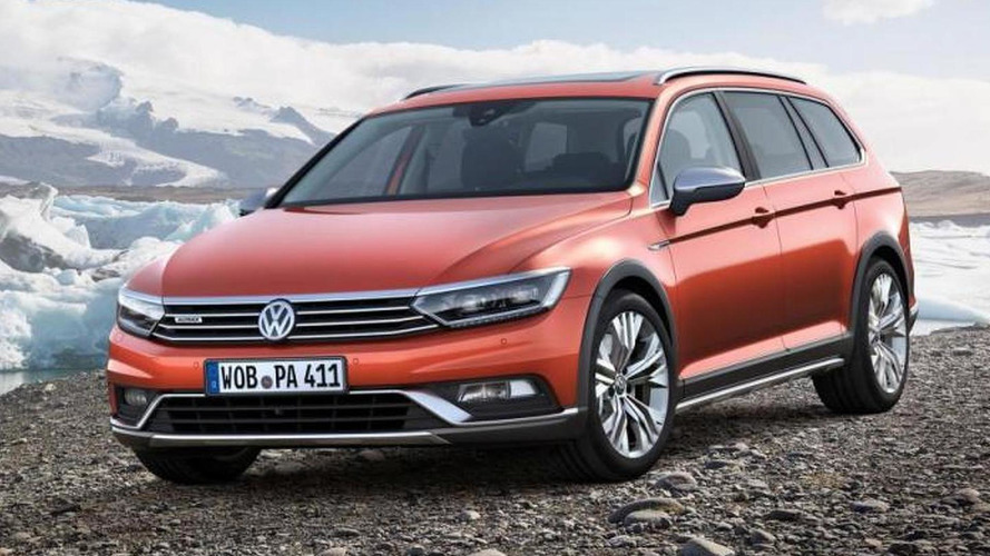 Volkswagen Passat Alltrack puts on a rugged suit