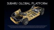 Subaru, ilk olarak yeni Impreza'da kullanacağı global platformu tanıttı