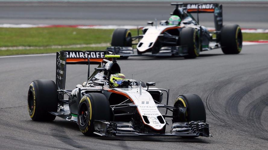 Formule 1 - Sergio Pérez rempile pour un an chez Force India