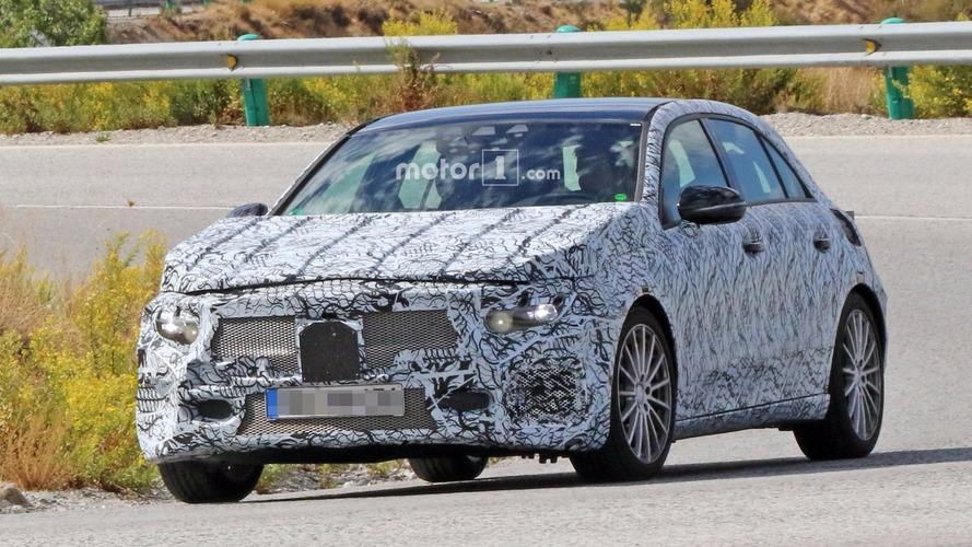 2018 Mercedes A Serisi prototipi yeni A40 olabilir