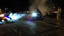 Süperşarjlı SRT Jeep, Twin Turbo'lu Camaro'yu Yedi Bitirdi