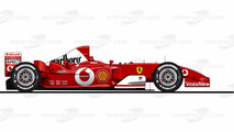 Ferrari F2003GA